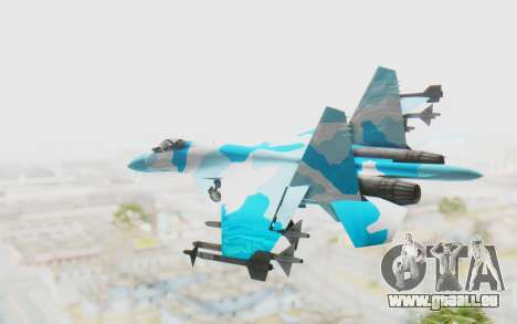 SU-37 American Ornament pour GTA San Andreas laissé vue