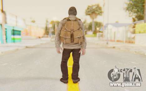 COD BO Russian Soldier v1 pour GTA San Andreas troisième écran