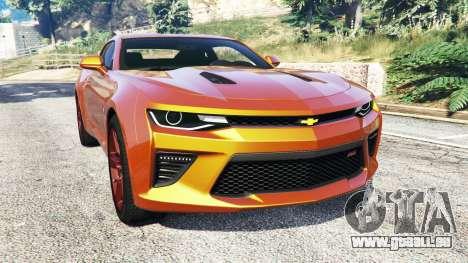 Chevrolet Camaro SS 2016 v2.0 für GTA 5