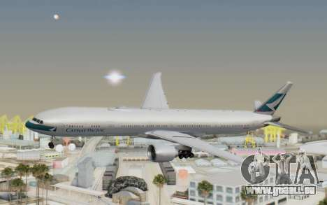Boeing 777-300ER Cathay Pacific Airways v1 pour GTA San Andreas