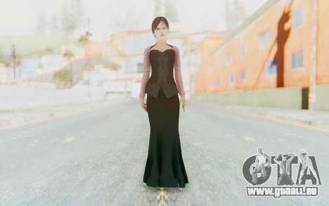 Linda Meilinda Kebaya Dark pour GTA San Andreas deuxième écran