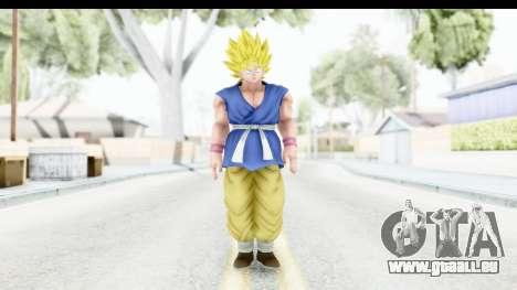 Dragon Ball Xenoverse Goku GT Adult SSJ1 für GTA San Andreas zweiten Screenshot
