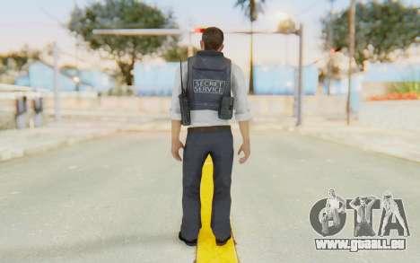CoD MW2 Secret Service pour GTA San Andreas troisième écran