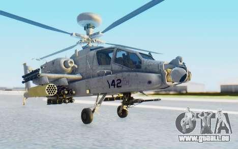 AH-64 Apache Marines pour GTA San Andreas