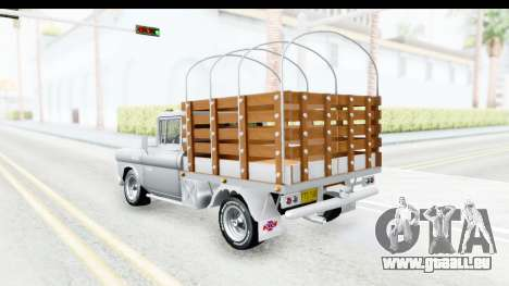 Chevrolet 3100 Diesel v1 für GTA San Andreas zurück linke Ansicht