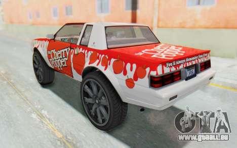 GTA 5 Willard Faction Custom Donk v2 IVF pour GTA San Andreas roue