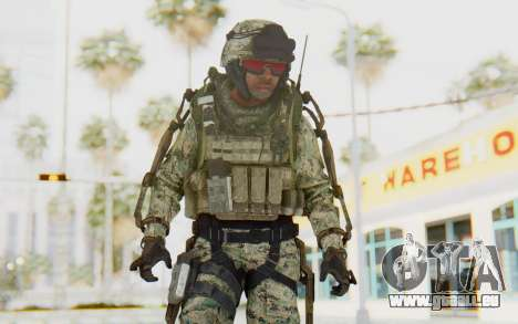 CoD AW US Marine Assault v3 Head C pour GTA San Andreas