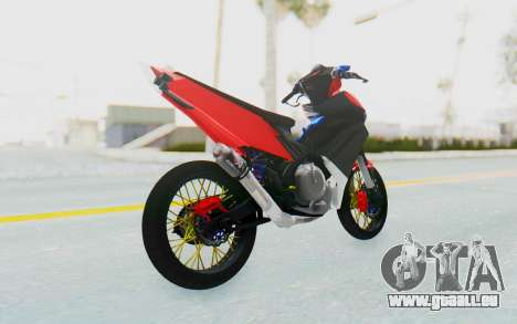 Yamaha Jupiter MX 135 Semi Roadrace für GTA San Andreas linke Ansicht