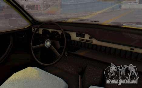 Dacia 1300 Stock für GTA San Andreas Rückansicht