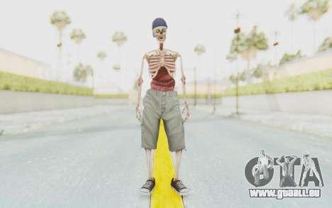 Skeleton Sk8ter pour GTA San Andreas deuxième écran