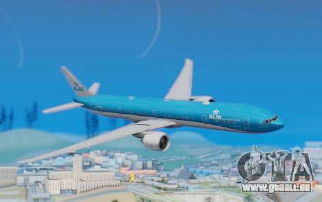 Boeing 777-300ER KLM - Royal Dutch Airlines v5 pour GTA San Andreas