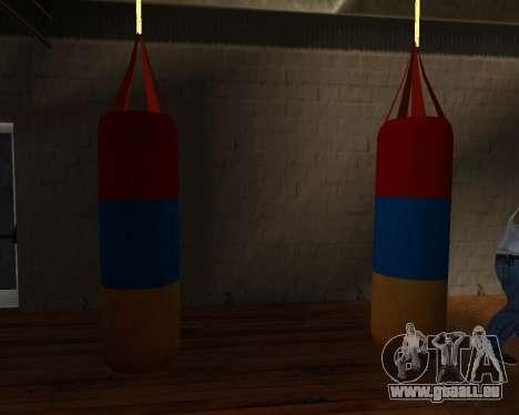 Pear-Boxen Stil der Armenischen Flagge für GTA San Andreas her Screenshot