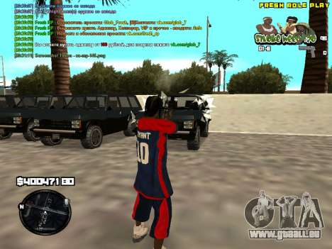C-HUD Smoke Weed 420 für GTA San Andreas zweiten Screenshot