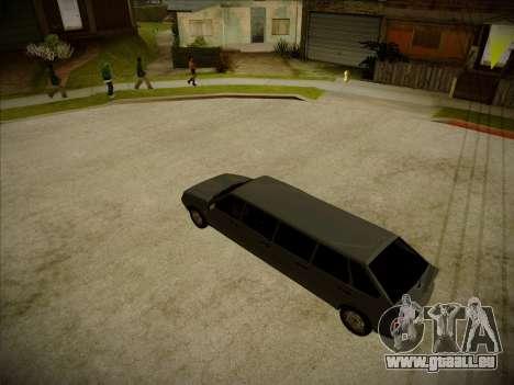 VAZ 2114 Verheerenden HQ-Modell für GTA San Andreas rechten Ansicht