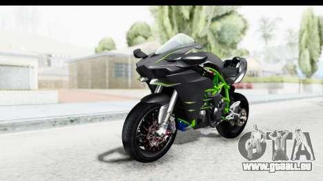 Kawasaki Ninja H2R Black pour GTA San Andreas