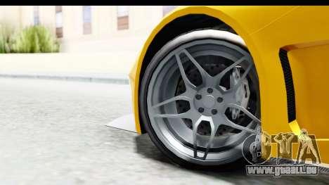 GTA 5 Vapid FMJ pour GTA San Andreas sur la vue arrière gauche