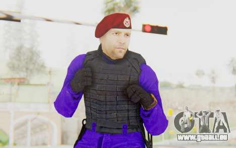 Bahrain Officer pour GTA San Andreas