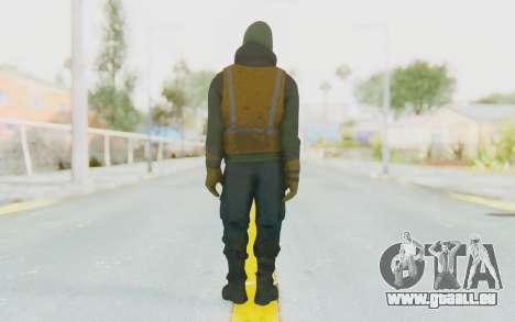 The Division Cleaners - Shield pour GTA San Andreas troisième écran