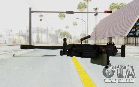 FN Minimi M249 Para pour GTA San Andreas deuxième écran