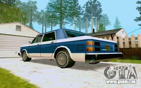 Bobcat Sedan für GTA San Andreas rechten Ansicht