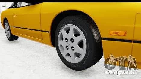 Nissan 240SX 1994 v1 für GTA San Andreas Rückansicht