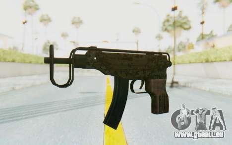 VZ-61 Skorpion Fold Stock Russian Gorka Camo für GTA San Andreas