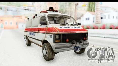 MGSV Phantom Pain Ambulance pour GTA San Andreas