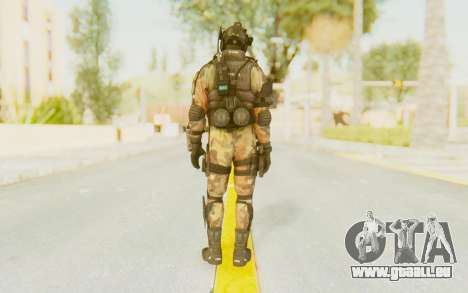Federation Elite Assault Woodland-Flora pour GTA San Andreas troisième écran