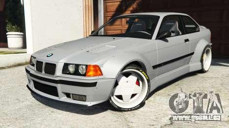 GTA 5 BMW M3 (E36) Street Custom volant
