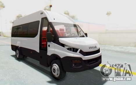 Iveco Daily Minibus 2015 pour GTA San Andreas vue de droite
