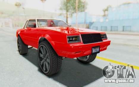 GTA 5 Willard Faction Custom Donk v2 IVF pour GTA San Andreas