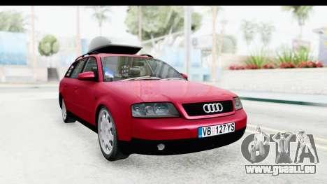 Audi A6 C5 Avant Sommerzeit für GTA San Andreas