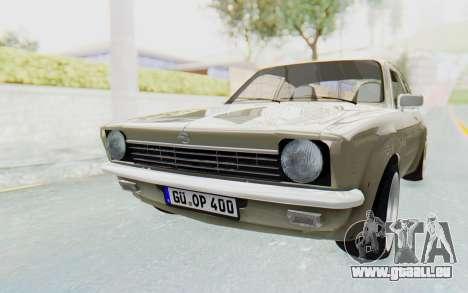 Opel Kadett C Coupe für GTA San Andreas