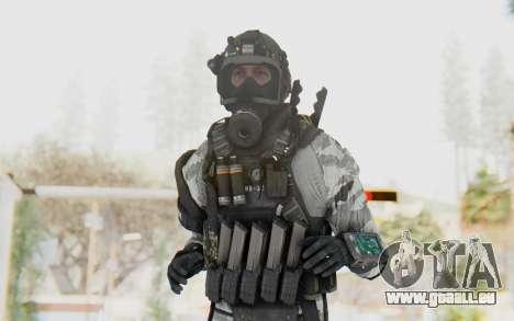 Federation Elite SMG Arctic für GTA San Andreas