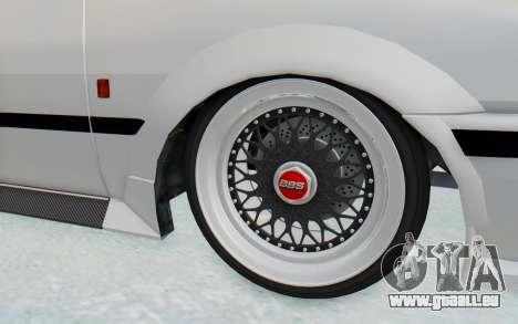 GTA 5 Futo Drift für GTA San Andreas Rückansicht