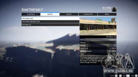 GTA 5 Heist Project 0.4.32.678 zehnte Screenshot
