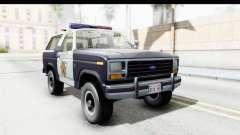 Ford Bronco 1982 Police