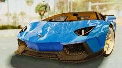 Lamborghini Aventador LP700-4 LB Walk Fenders für GTA San Andreas