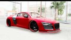 Audi R8 5.2 V10 Plus LB Walk für GTA San Andreas