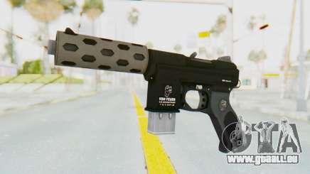 GTA 5 Vom Feuer Machine Pistol für GTA San Andreas