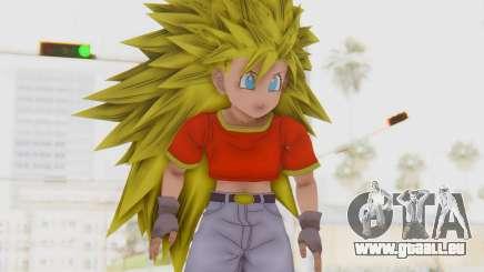 Dragon Ball Xenoverse Pan SSJ3 pour GTA San Andreas