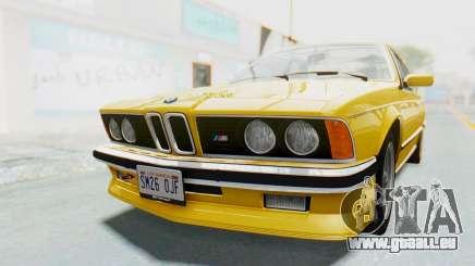 BMW M635 CSi (E24) 1984 HQLM PJ2 für GTA San Andreas