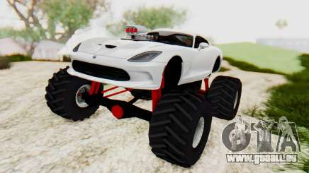 Dodge Viper SRT GTS 2012 Monster Truck für GTA San Andreas