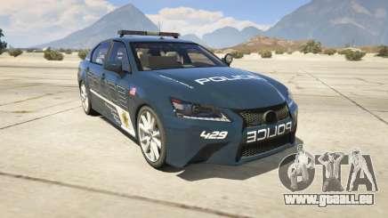 Lexus GS 350 Hot Pursuit Police für GTA 5