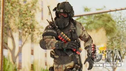 Federation Elite Shotgun Woodland-Flora pour GTA San Andreas