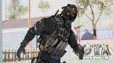 Federation Elite SMG Tactical pour GTA San Andreas