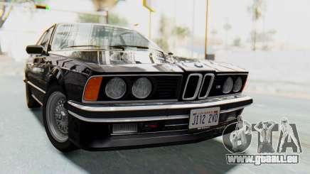 BMW M635 CSi (E24) 1984 HQLM PJ3 für GTA San Andreas