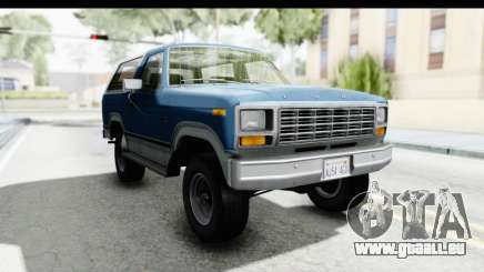 Ford Bronco 1980 pour GTA San Andreas