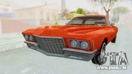 Buick Riviera 1972 Boattail Lowrider pour GTA San Andreas