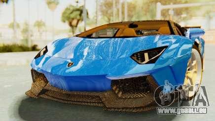 Lamborghini Aventador LP700-4 LB Walk Fenders pour GTA San Andreas
